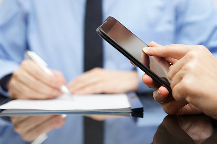 document security with a mobile workforce