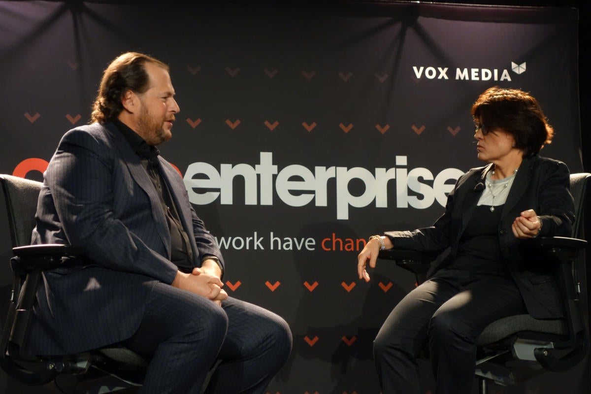 It's time for companies to stand for something, says Marc Benioff
