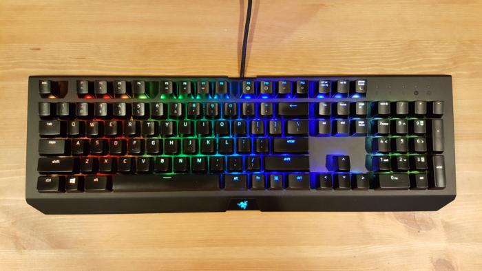 c5d0df4d1a7 Razer BlackWidow X Chroma review: A beautiful keyboard, but kind of a pain