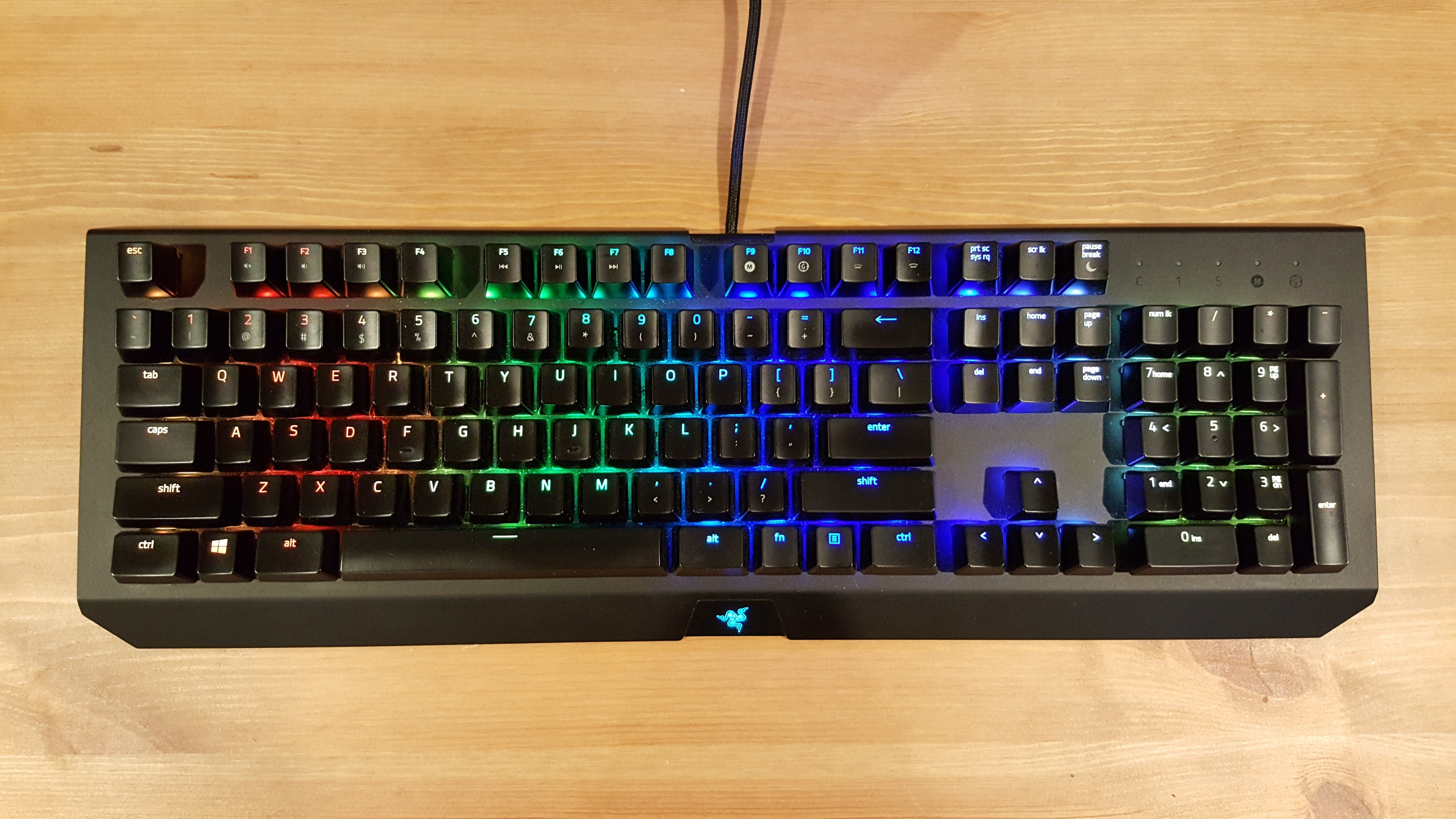 5958d0c158e Razer BlackWidow X Chroma review: A beautiful keyboard, but kind of a pain