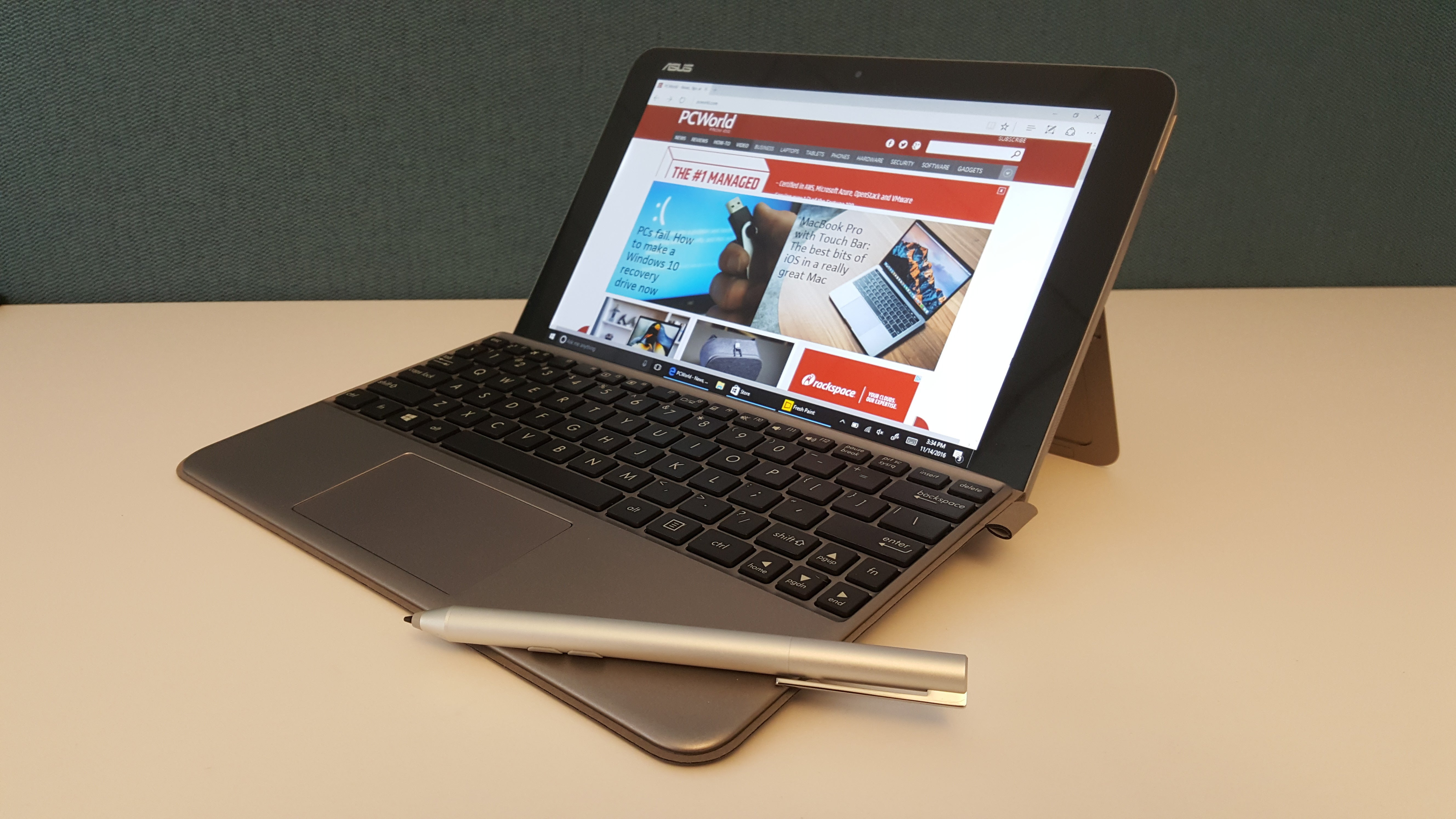 465704a0476dda Asus Transformer Mini review  This 2-in-1 delivers good-enough ...
