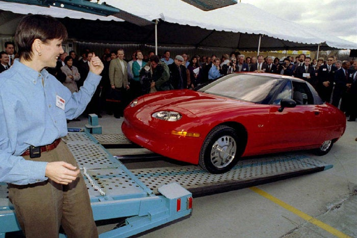 The electric car that started it all