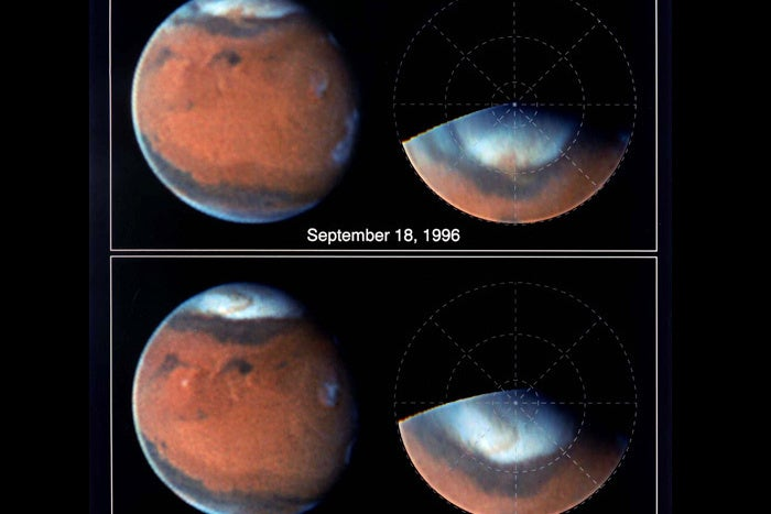 Mars and Texas