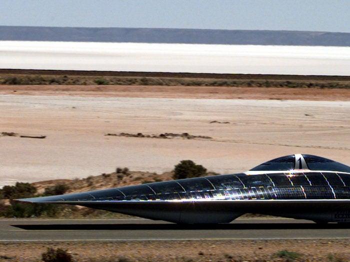 Cool solar car