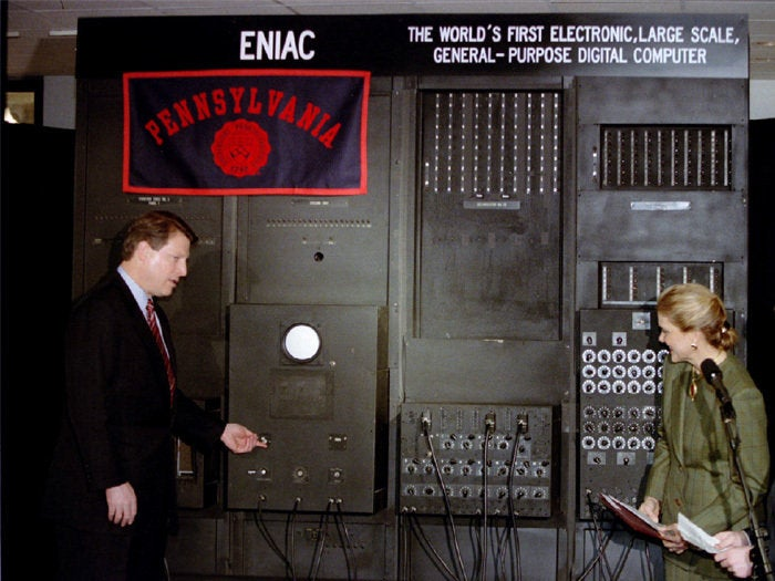 Gore powers-up ENIAC