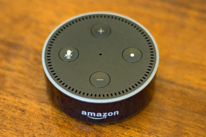 Amazon Echo top