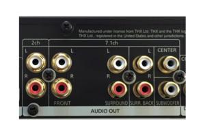 analog audio outputs