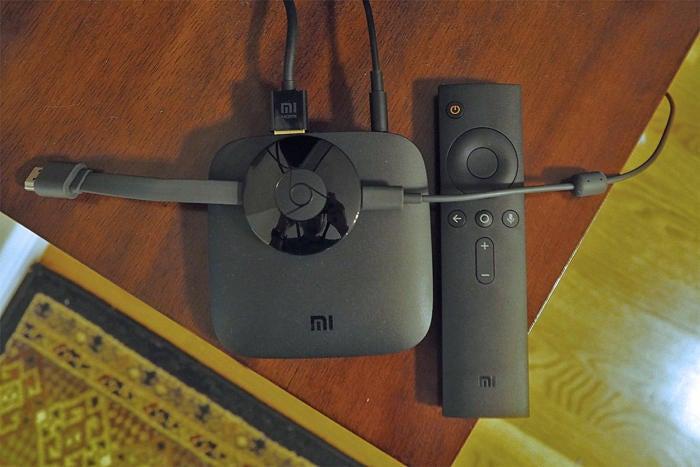 Android TV (Mi Box) Chromecast
