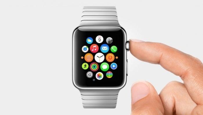 apple watch home finger