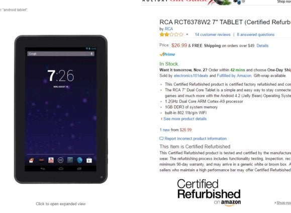 cheap amazon tablets