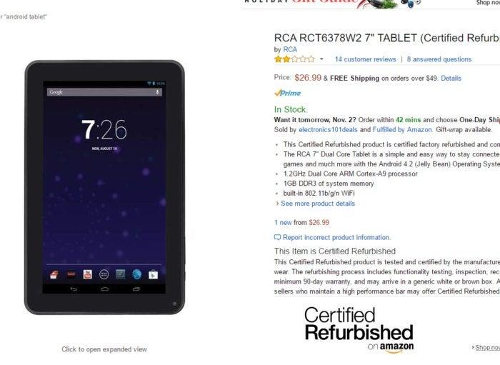 cheap amazon tablets