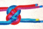 knot rope joined tie tied