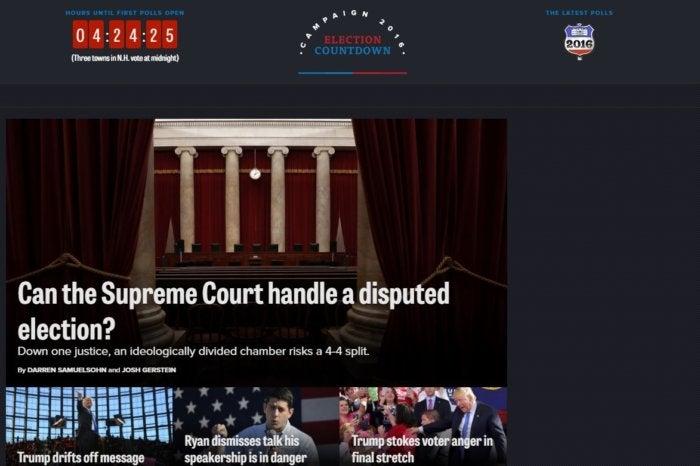 election sites politico nov 2016
