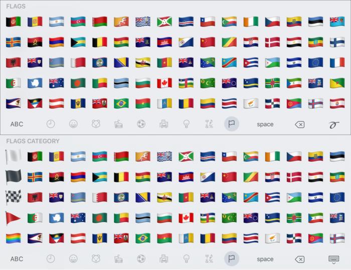 emoji compare flags1