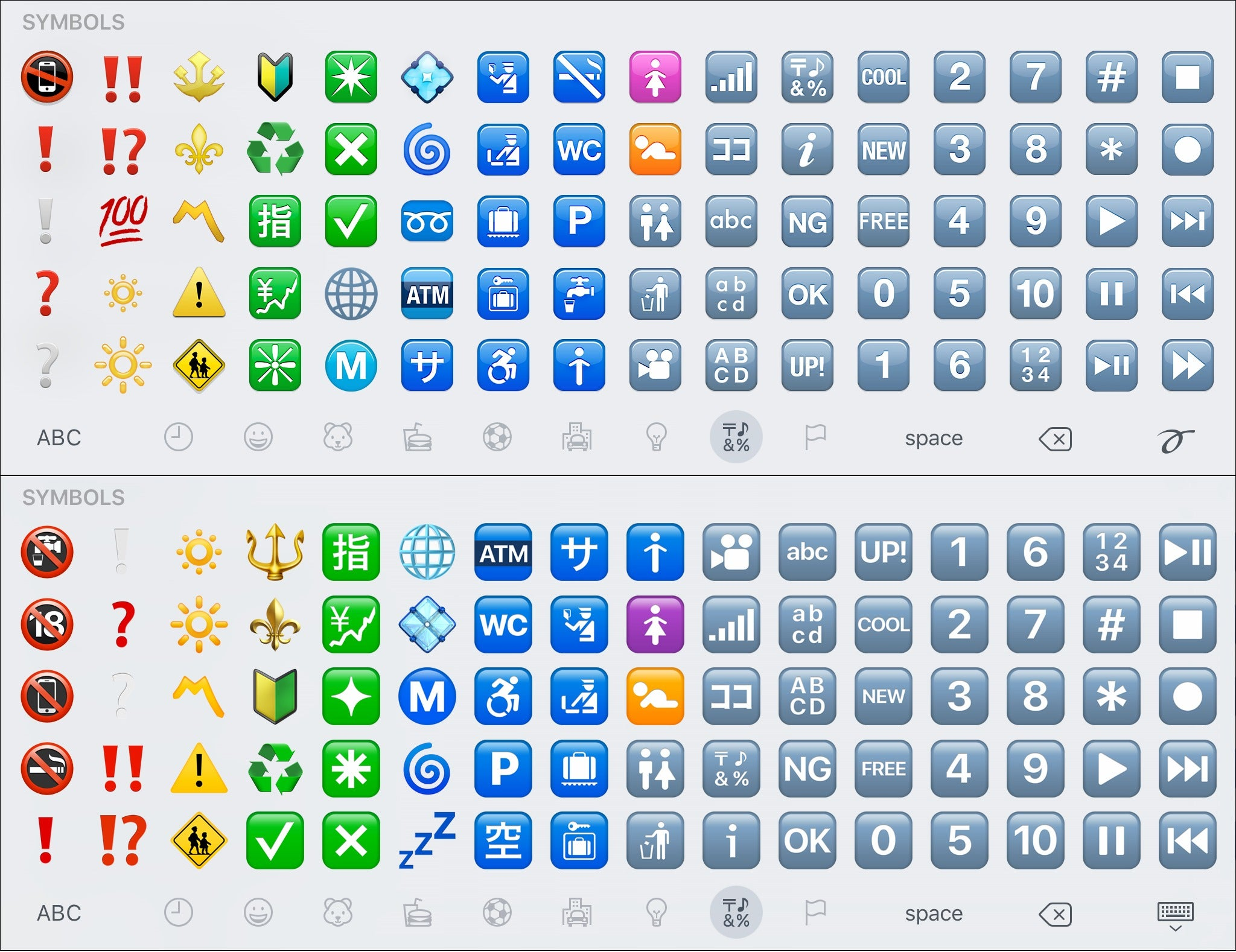 Check out every single new emoji in ios 102 macworld see larger image biocorpaavc Images