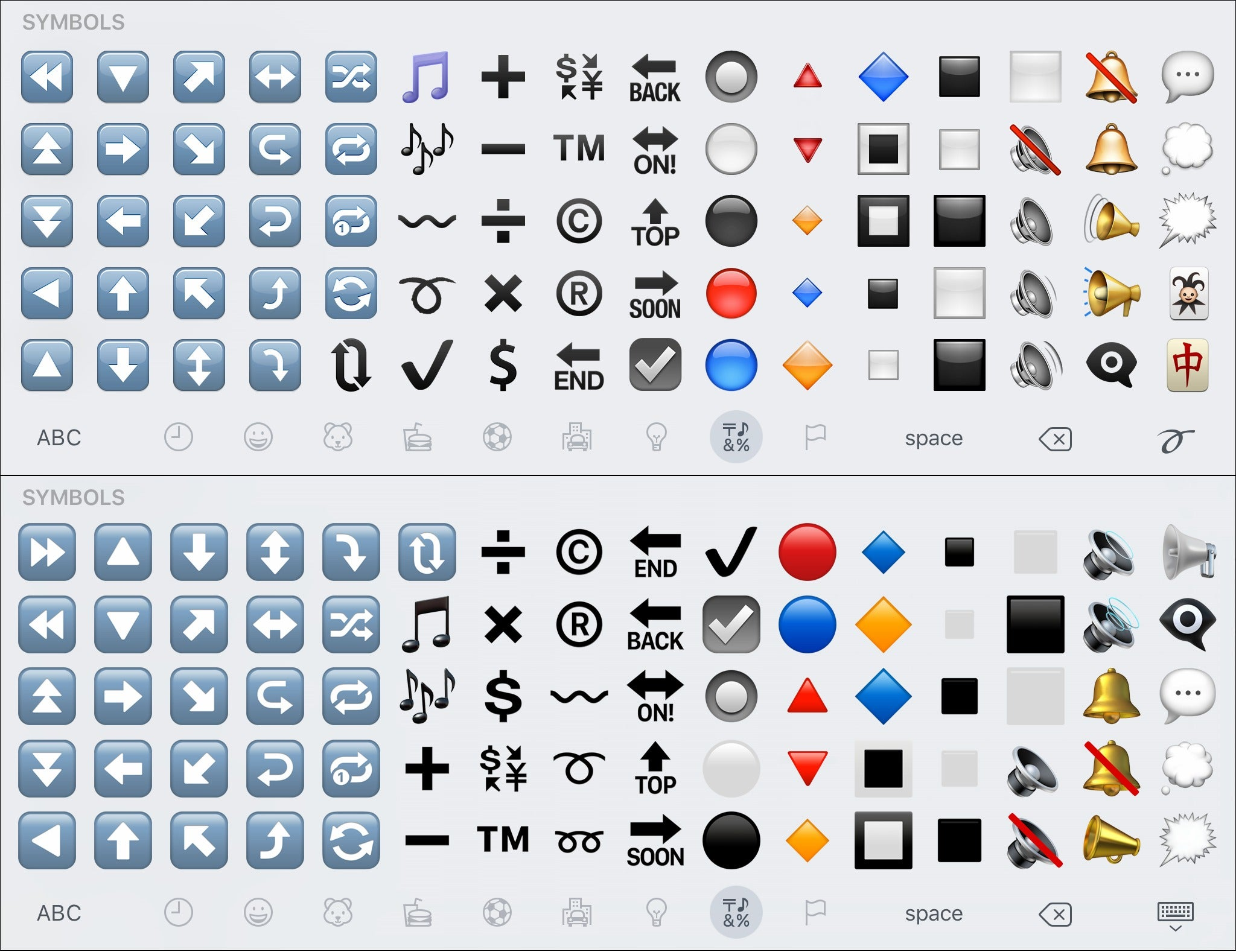 Check out every single new emoji in ios 102 macworld symbols page 3 biocorpaavc Image collections