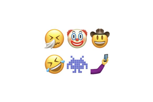 emoji unicode9 ios102 clown