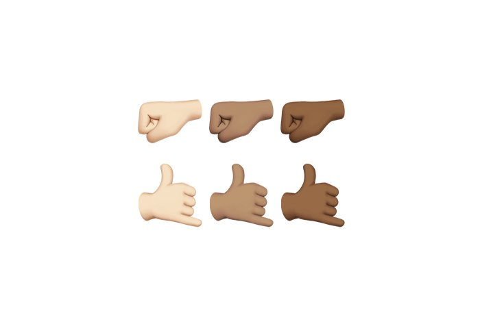 emoji unicode9 ios102 hands