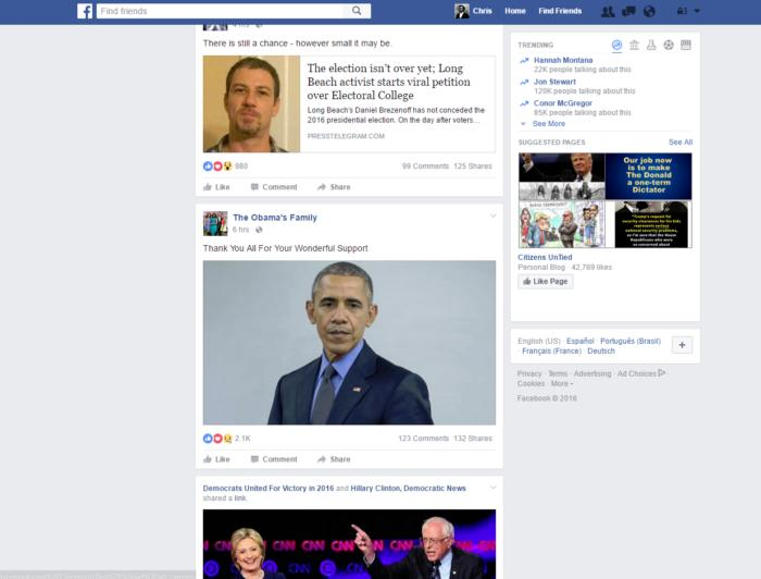 facebook democratic page