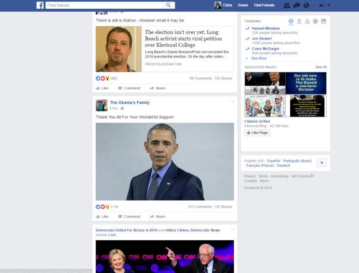 facebook democratic page
