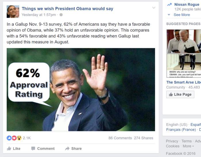 facebook dems politcal