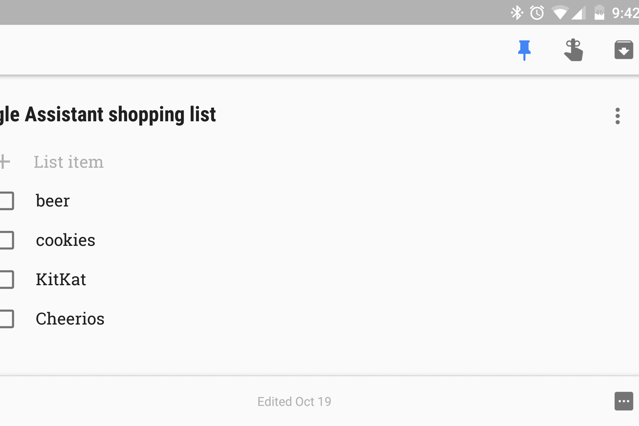 google assistant shopping