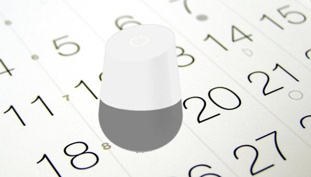 google home fixes calendar