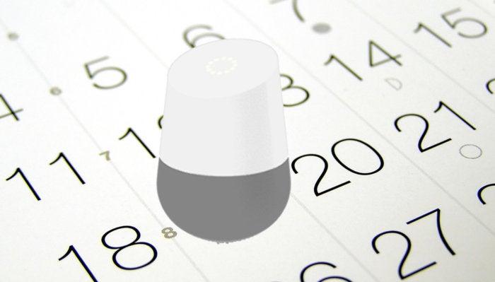 google home fixes calendar
