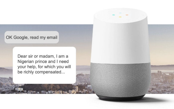 google home fixes email