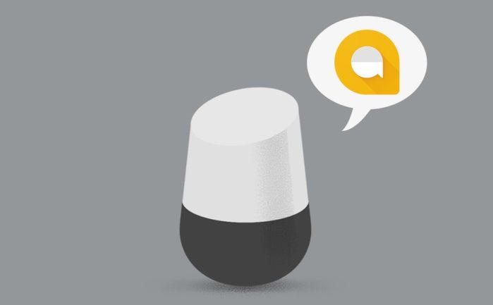 google home fixes messaging