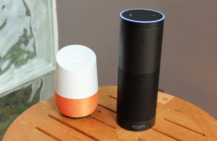 google home and amazon echo
