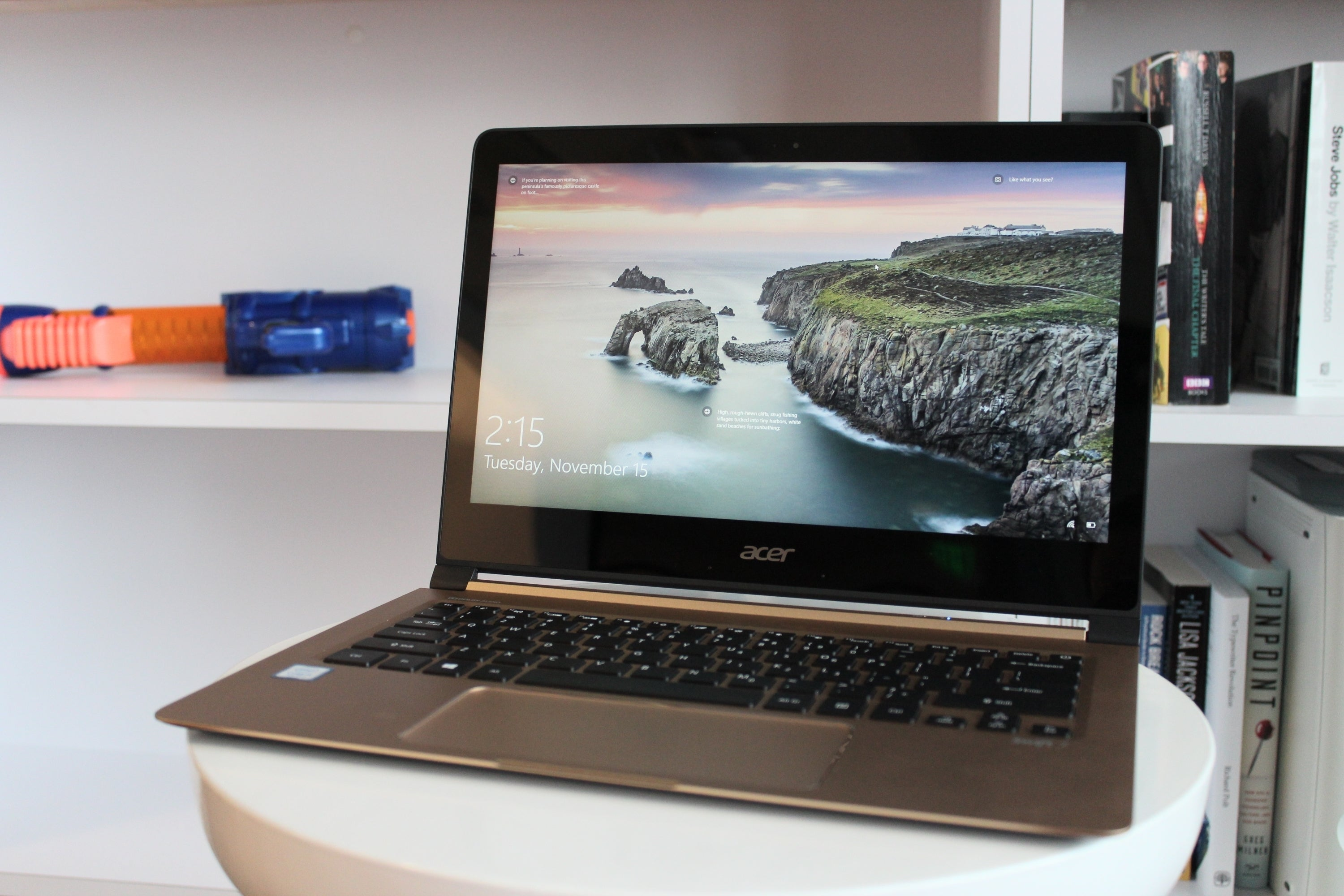 Notebook samsung cena - Acer Swift 7 Review The World S Thinnest Laptop Is Starving For Power Pcworld