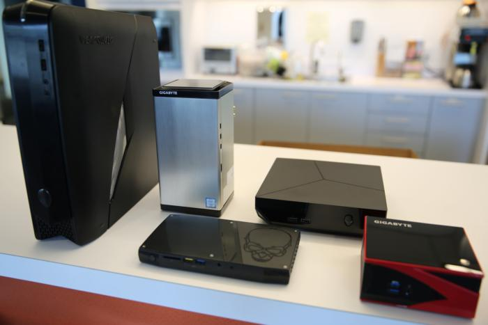 Brix Gaming UHD with Alienware X51, Alienware Alpha R2, Intel Skull Canyon NUC, Gigabyte Brix