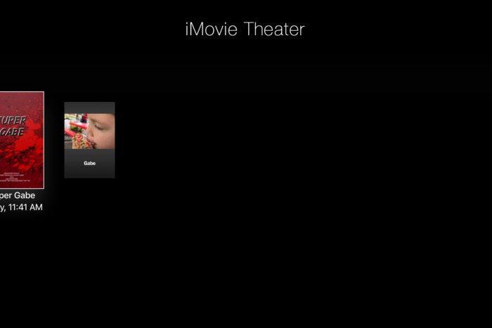 iMovie