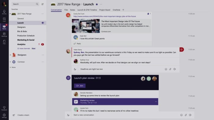 introducing microsoft teams