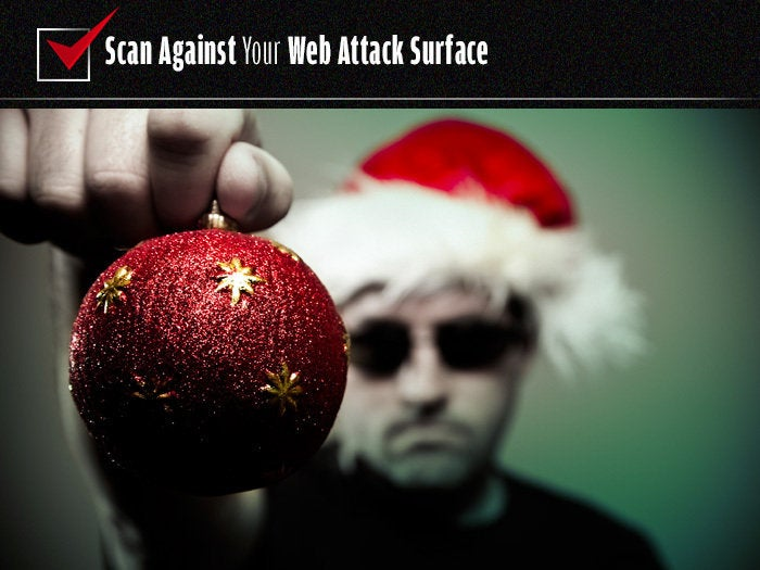 Scan against your Web attack surface