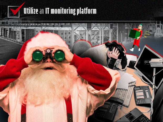 Utilize an IT monitoring platform