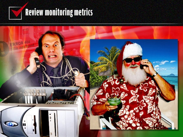Review monitoring metrics