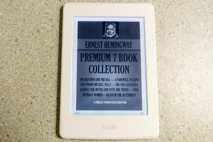 Amazon Kindle Paperwhite (3rd gen) review: Best e-reader for