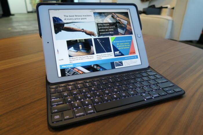 logitech create keyboard case ipad pro