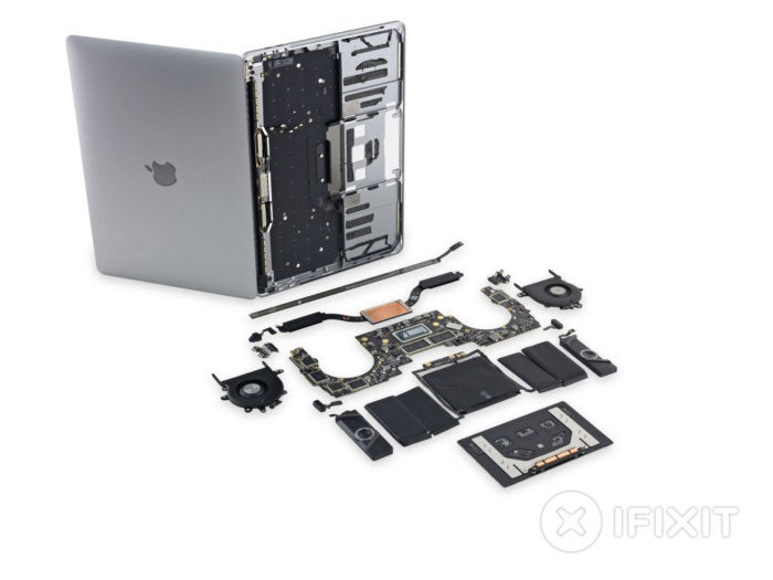 MacBook Pro teardown reveals pointless speaker grilles and hard-to