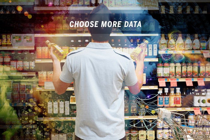 Choose more data