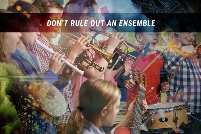 Don't rule out an ensemble