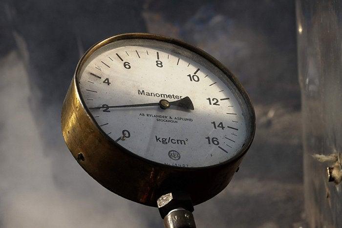 manometer measure pressure
