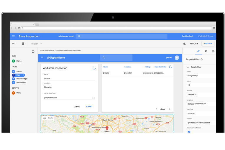 Google gets into the low-code enterprise app development ...