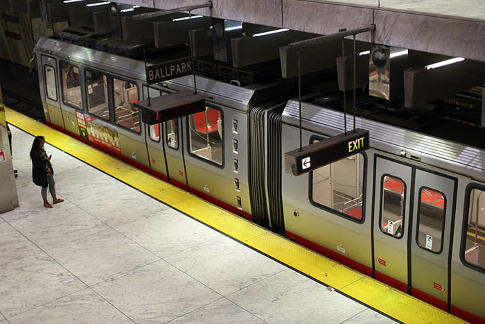 muni subway sanfrancisco