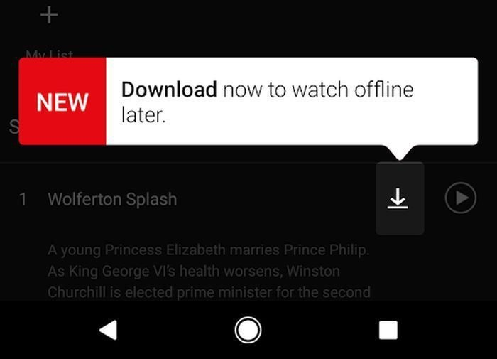 Netflix now lets you save downloads to your Android phone's