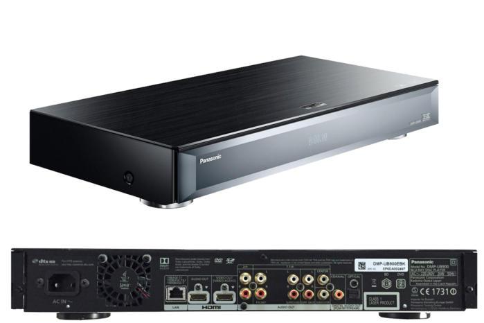 Panasonic DMP-UB900 front and rear