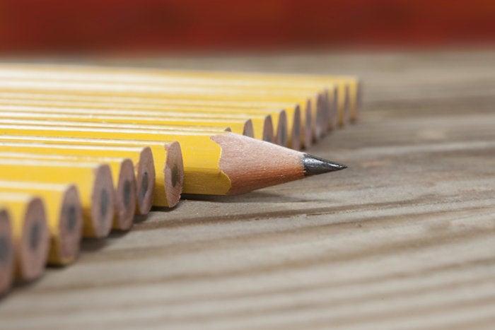 pencil sharpened skills