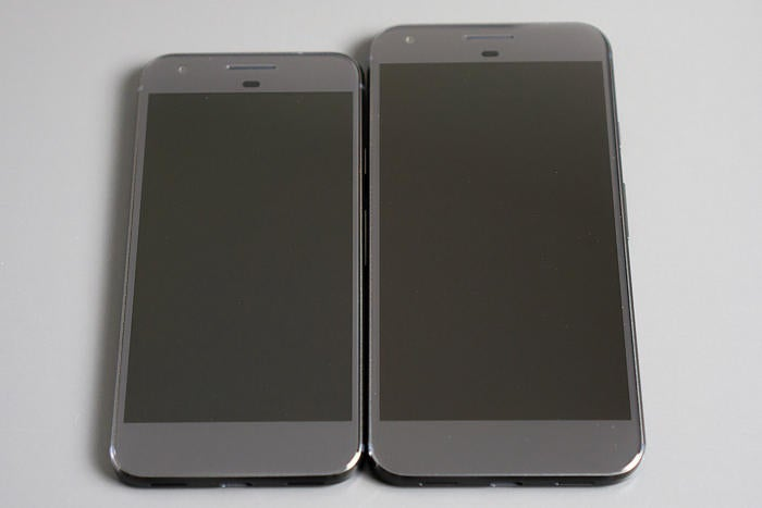 pixel and xl size